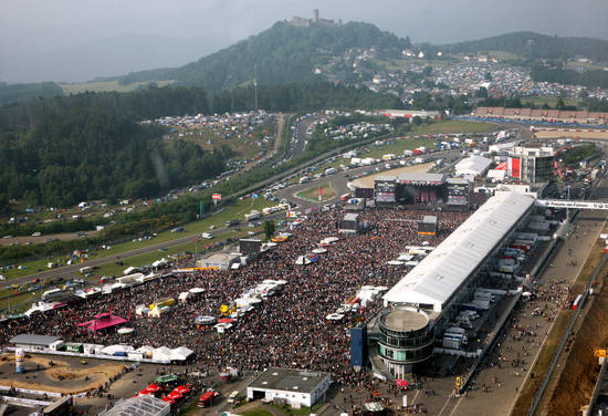 Rock Am Ring Müll