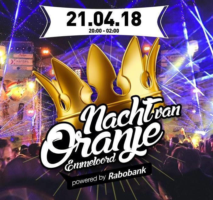Volle bak tijdens Nacht van Oranje in Emmeloord!